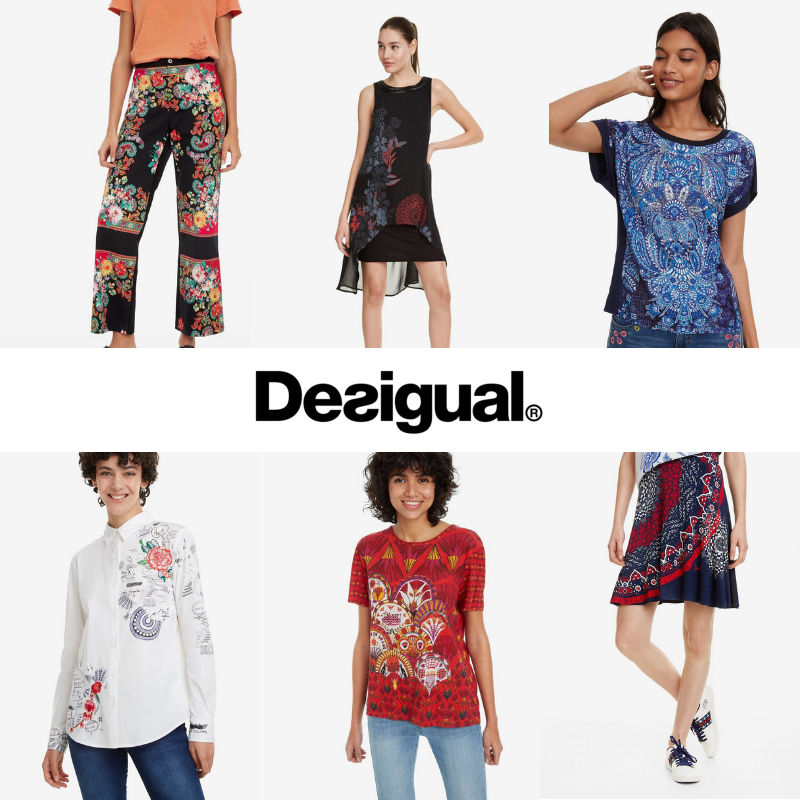 DESIGUAL WOMEN'S SPRING COLLECTION LATEST OFFERS Fashion
