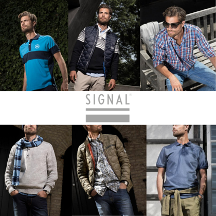 SIGNAL COLLECTION HOMME HIVER - 6,20 EUR/PC