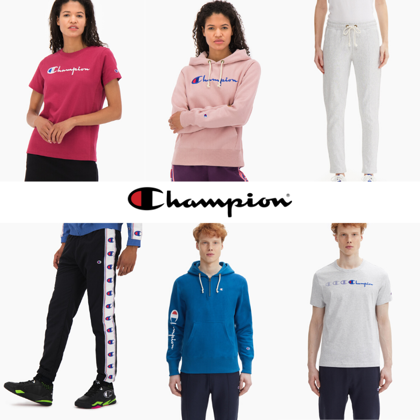 CHAMPION MEN/WOMEN MIX - FROM 6,40 EUR/PC