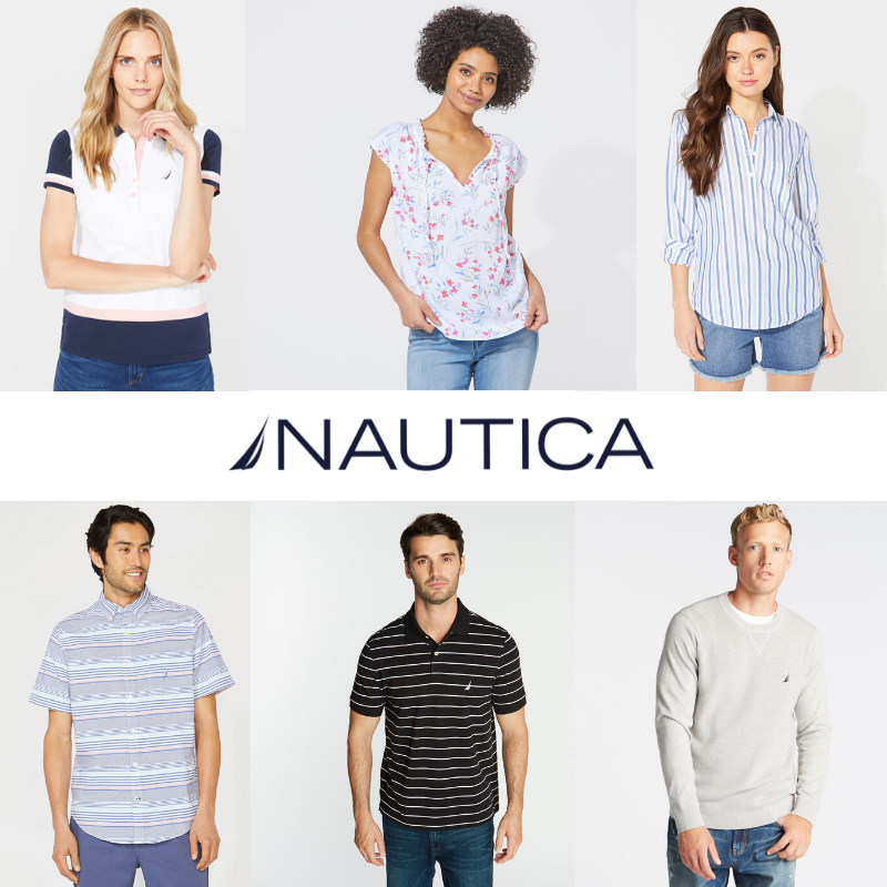 NAUTICA WOMEN MEN MIX - FROM 7,50 €/PC