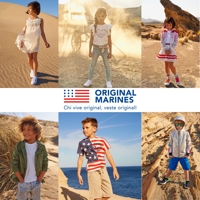 NOUVELLE ARRIVAGE ORIGINAL MARINES ENFANT PRINTEMPS – À PARTIR DE 1,95 EURO / PC
