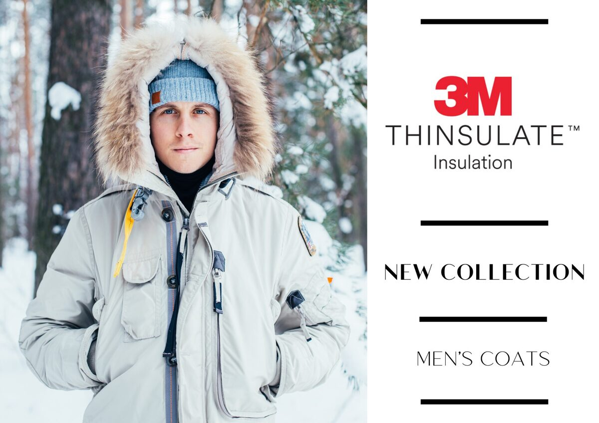 MEN'S THINSULATE COAT MIX - FROM 16,90 EUR/PC