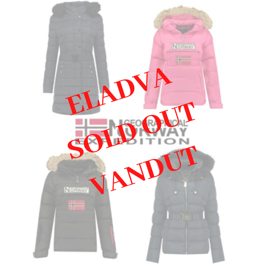 GEOGRAPHICAL NORWAY WOMEN COAT MIX - 44,90 €/PC