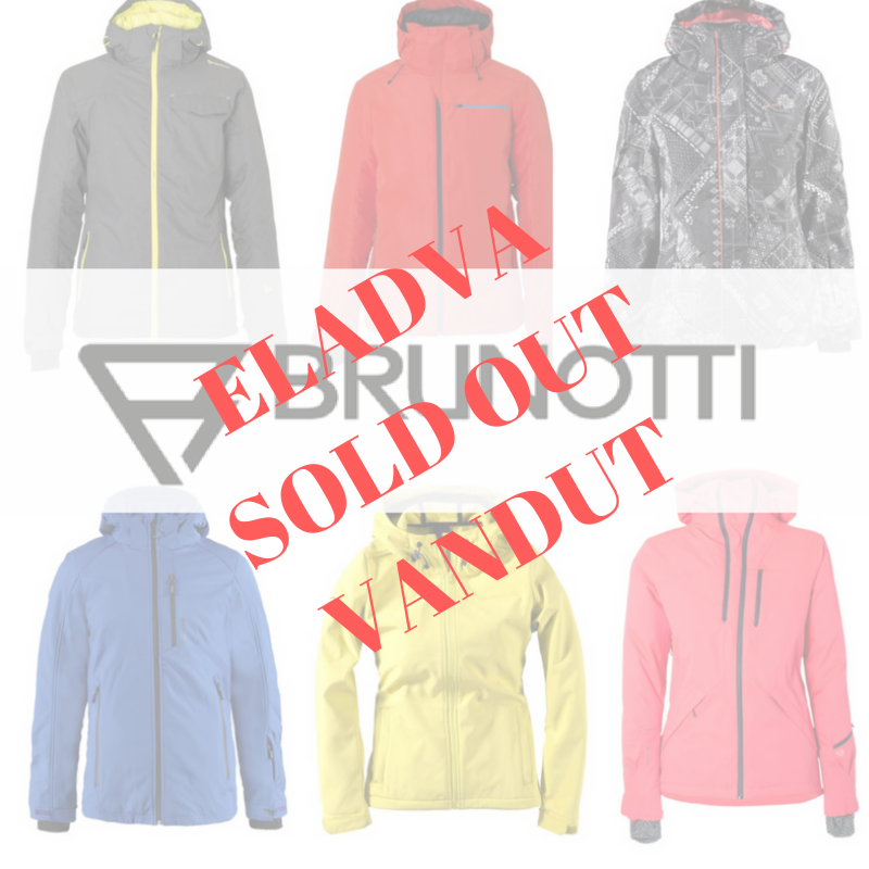 Brunotti snow jackets, sport coats- 15.60 €/pc