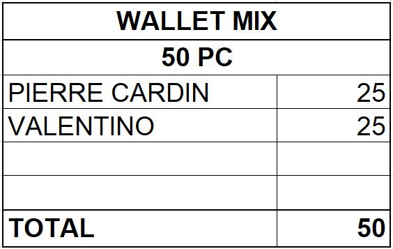 PREMIUM WALLET COLLECTION - 13,10 EUR / PC