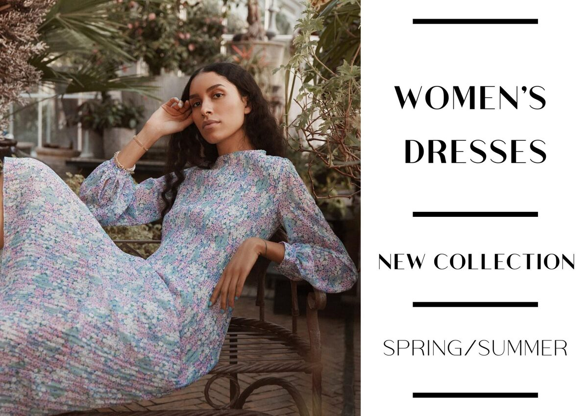 WOMEN'S SPRING/SUMMER DRESS COLLECTION - FROM 5,15 EUR / PC