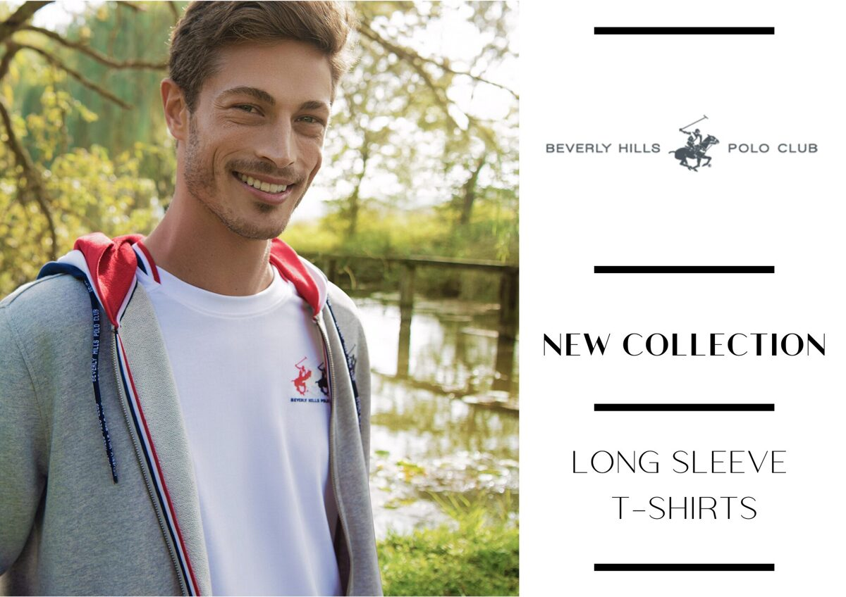 BEVERLY HILLS POLO CLUB T-SHIRT COLLECTION - FROM 4,85 EUR / PC