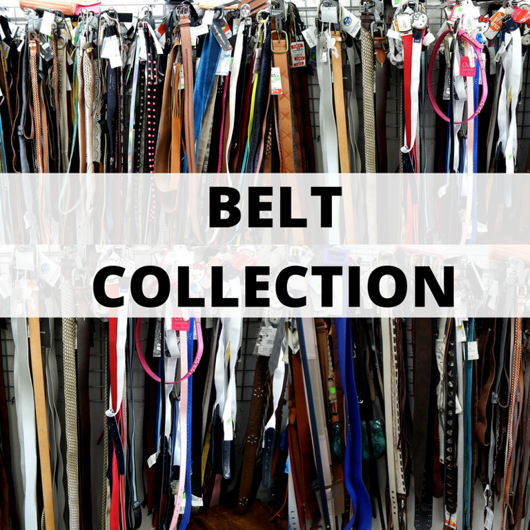 Men's-women's- kid's belt collection-1.90 Eur/pc