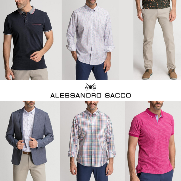 ALESSANDRO SACCO  MEN COLLECTION - FROM 5,10 EUR/PC