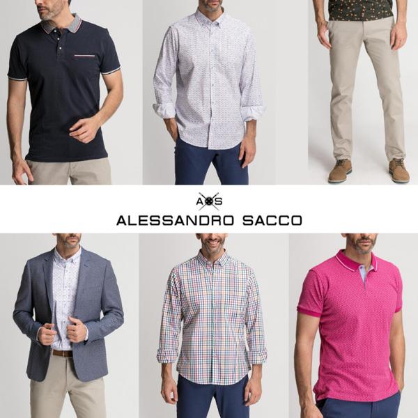 ALESSANDRO SACCO FÉRFI KOLLEKCIÓ - 5,10 EUR/DB-TÓL