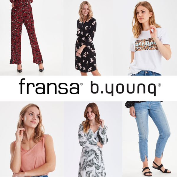 FRANSA B.YOUNG WOMEN MIX - FROM 5,50 €/PC