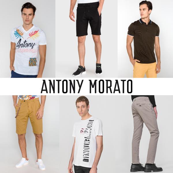 ANTONY MORATO SPRING/SUMMER MEN'S COLLECTION – 8,40 EUR / PC