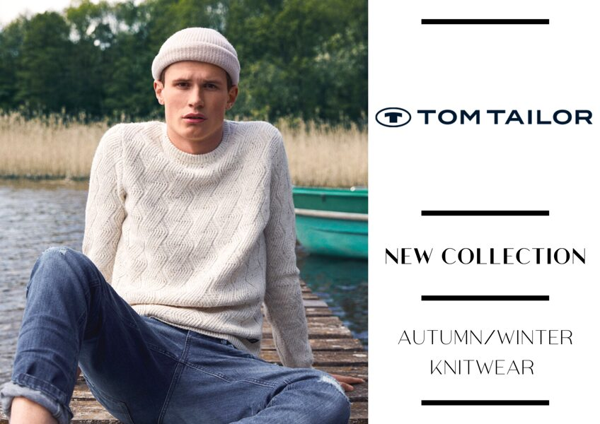 TOM TAILOR MEN'S KNITWEAR COLLECTION - FROM 7,45 EUR/PC