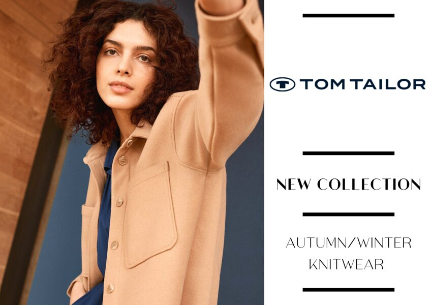 TOM TAILOR WOMEN'S KNITWEAR COLLECTION - FROM 7,00 EUR/PC