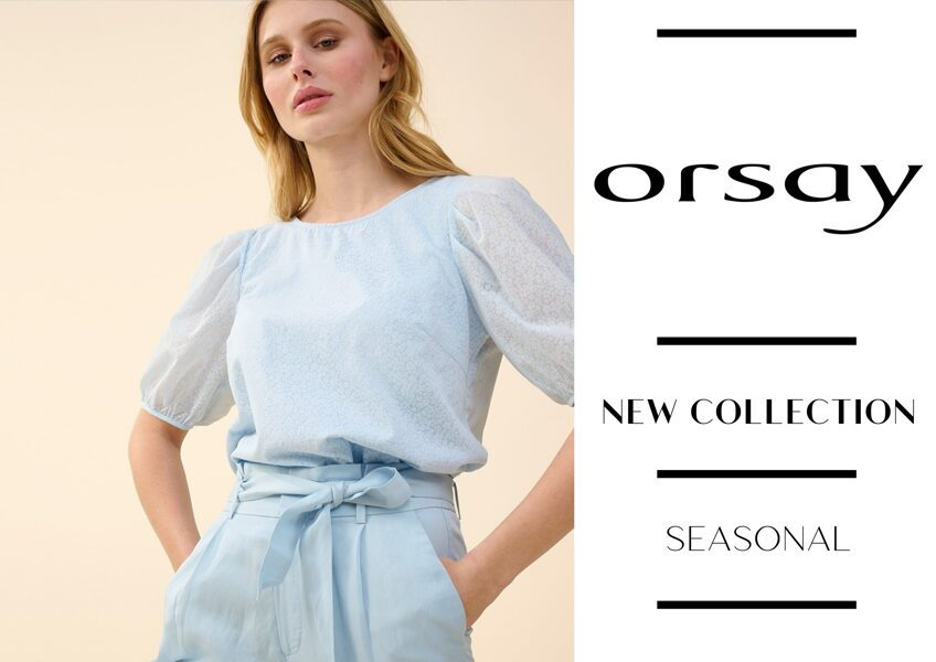 ORSAY WOMEN'S COLLECTION - 4,25 € / PC